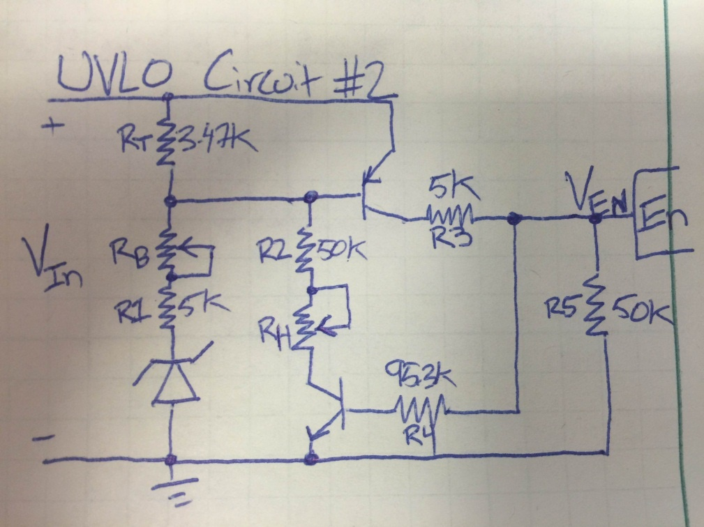 How To Control Turn On Off Thresholds In Voltage