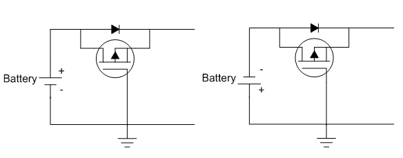 Another use for load switches: reverse battery protection