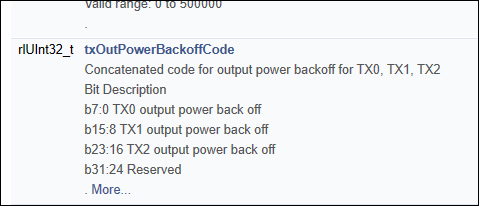 Resolved] IWR1443BOOST: Tx output power back-off of Tx2 and Tx3 does