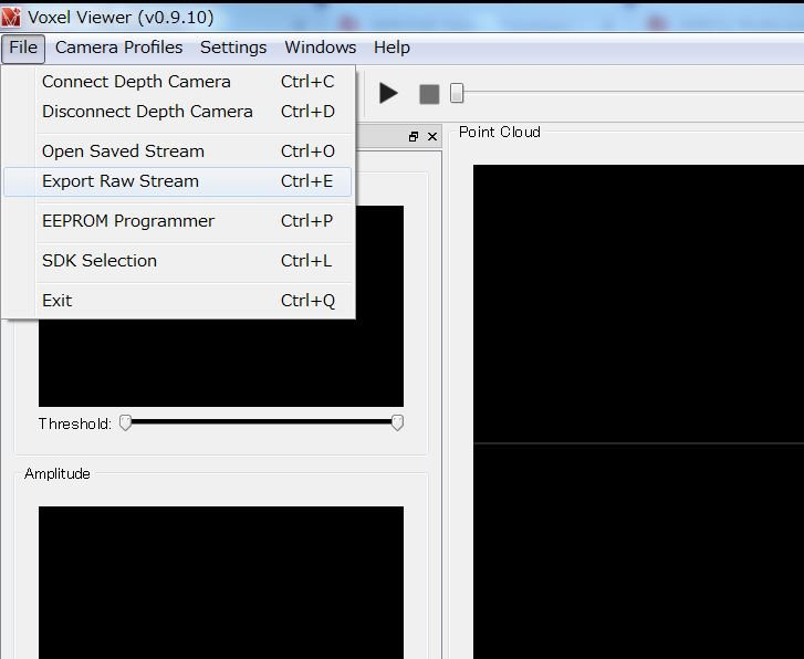 Resolved] OPT8241-CDK-EVM: Voxel Viewer: How to export raw