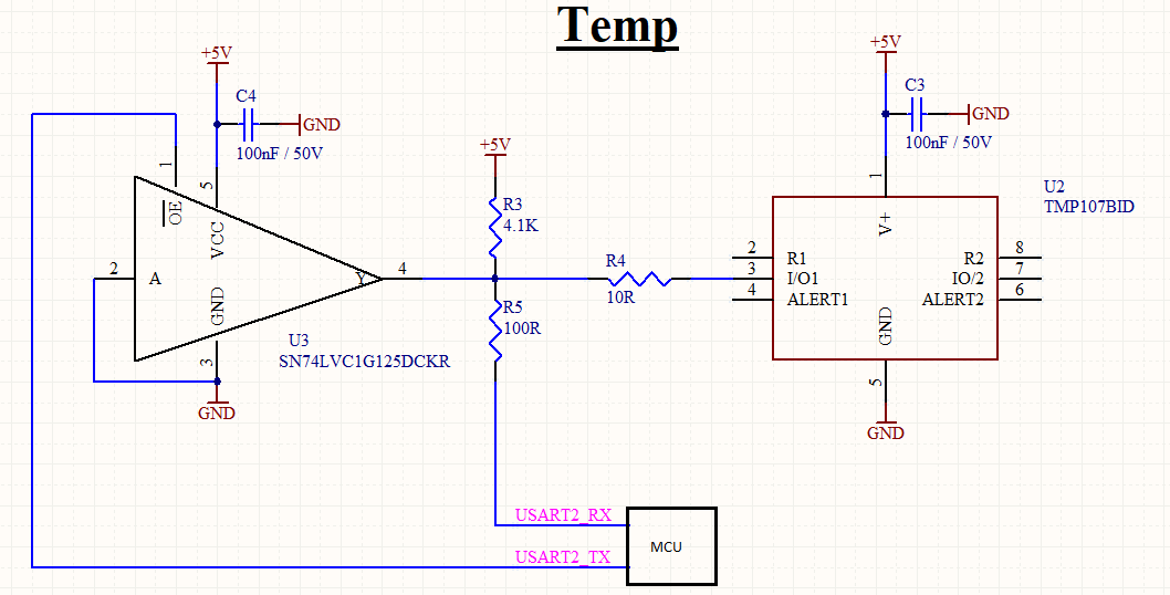 TMP107: Trouble initialising and using with STM32 - Sensors