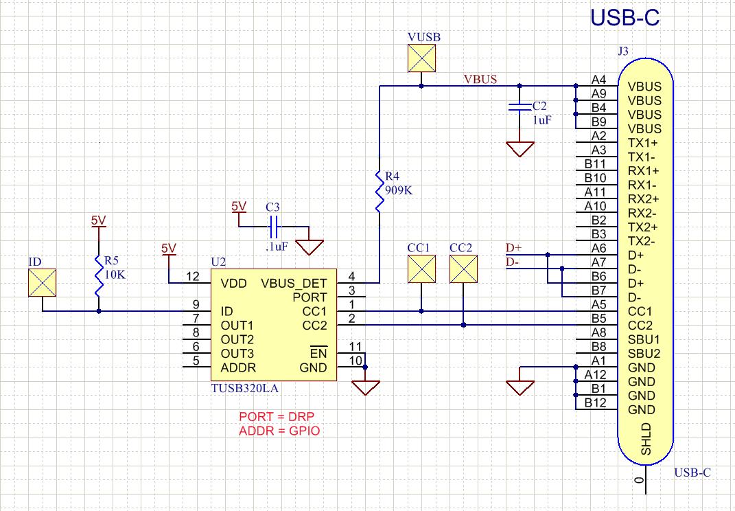 Resolved Tusb320 Usb C Schematic Interface Forum Ti E2e Community