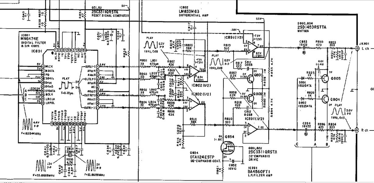 resolved  technics cd players opamp upgrade - amplifiers forum - amplifiers