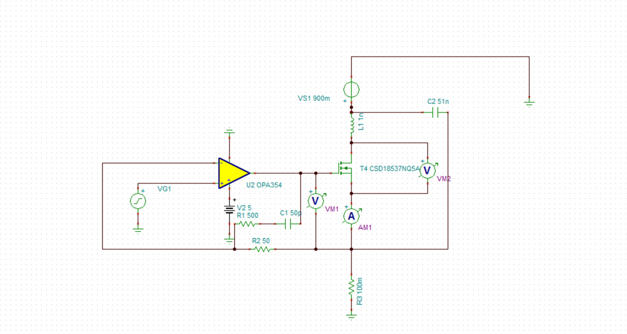 Op Amp For High Slew Rate Dc Electronic Load Amplifiers Forum The Operational Amplifier Electronics Manjunath I