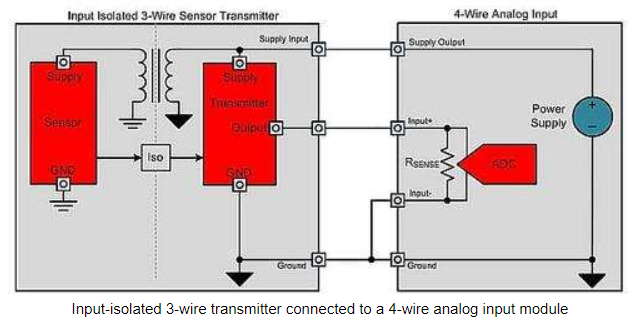 3 wire transmitter wiring diagram xtr116 4 20ma transmitter with 4 wire sensor amplifiers forum  xtr116 4 20ma transmitter with 4 wire