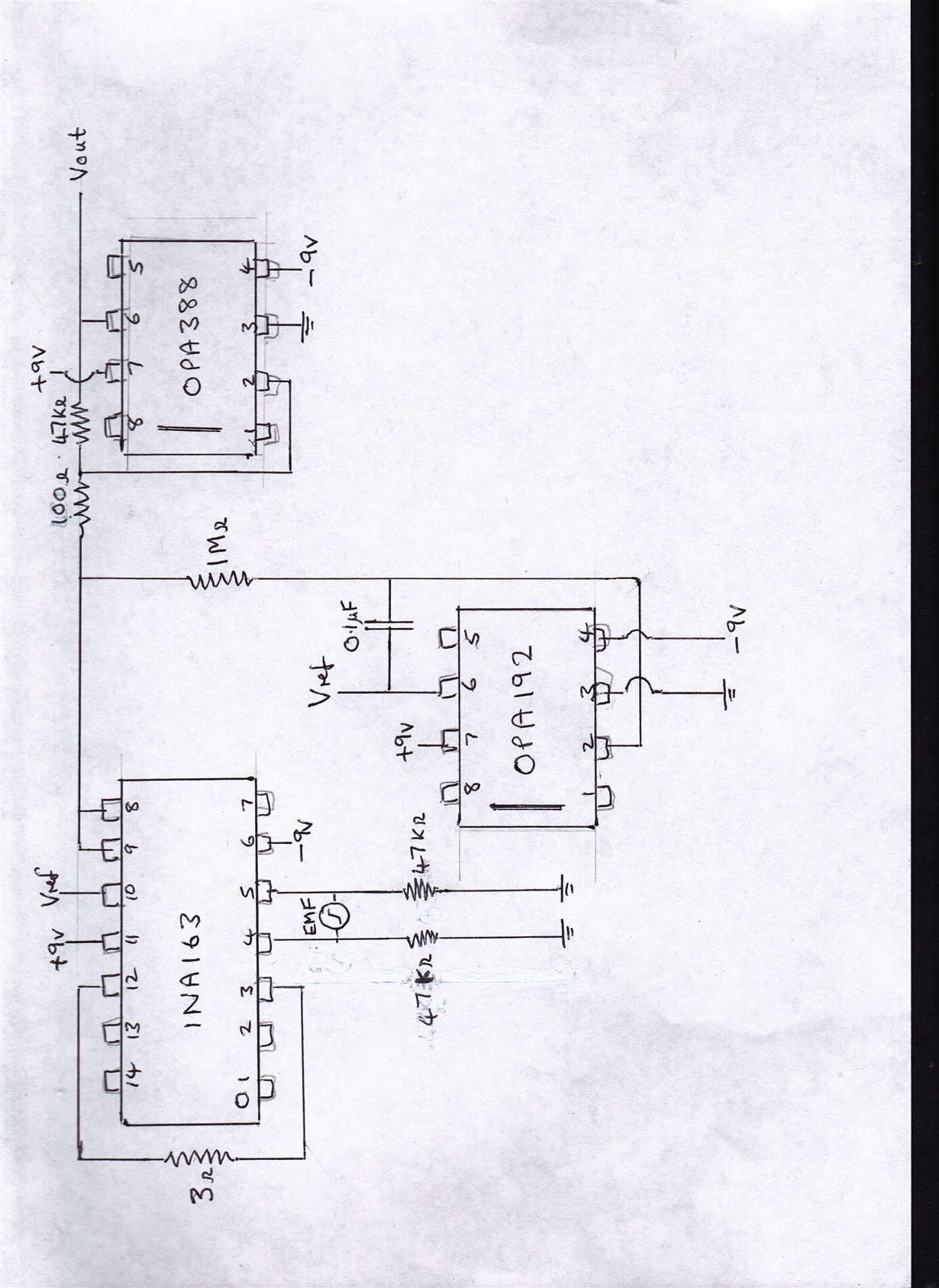 Ina126  Amplifying A Very Small A  C Voltage