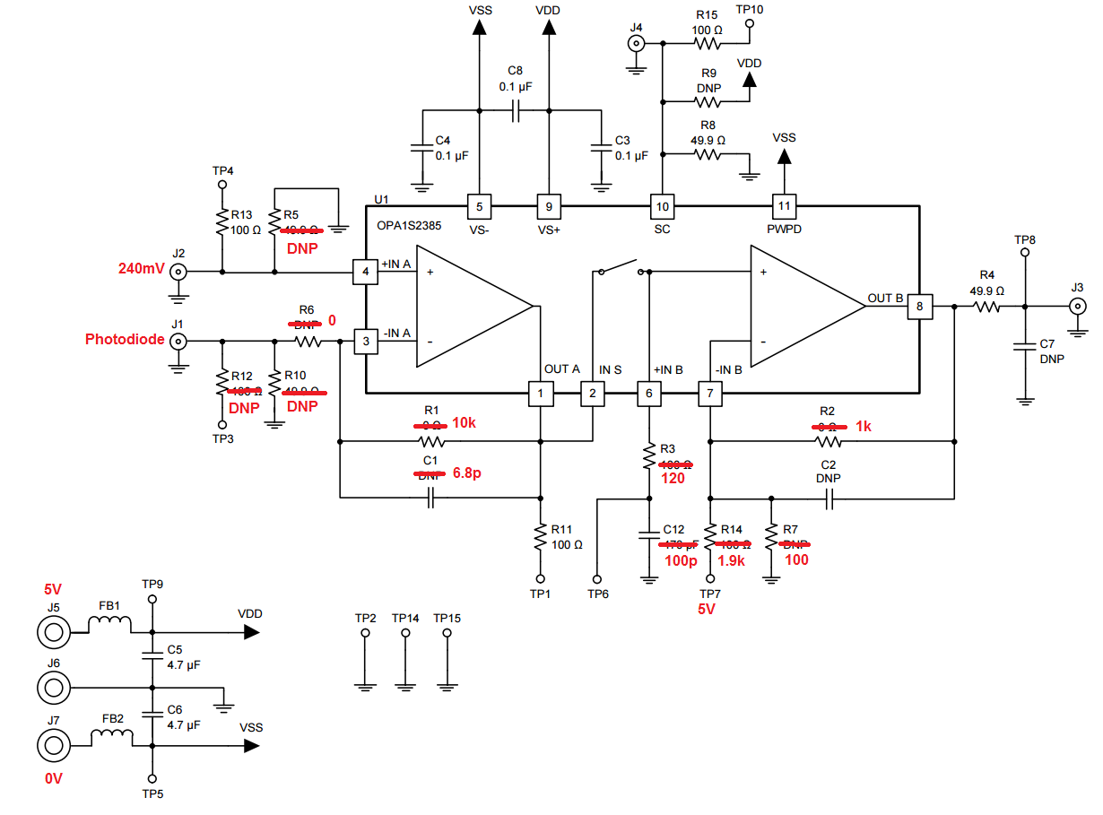 opa1s2384evm  u0026 sld-70 bg2a - amplifiers forum