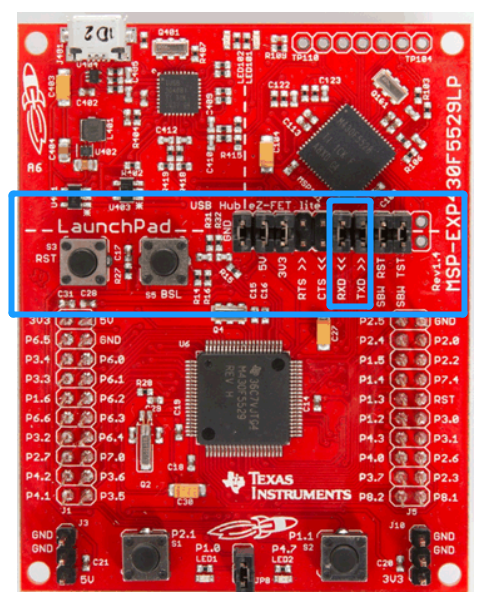 MSP-EXP430F5529LP: request advice how to minimize LP and get