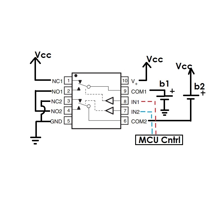 parallel to series switching batteries