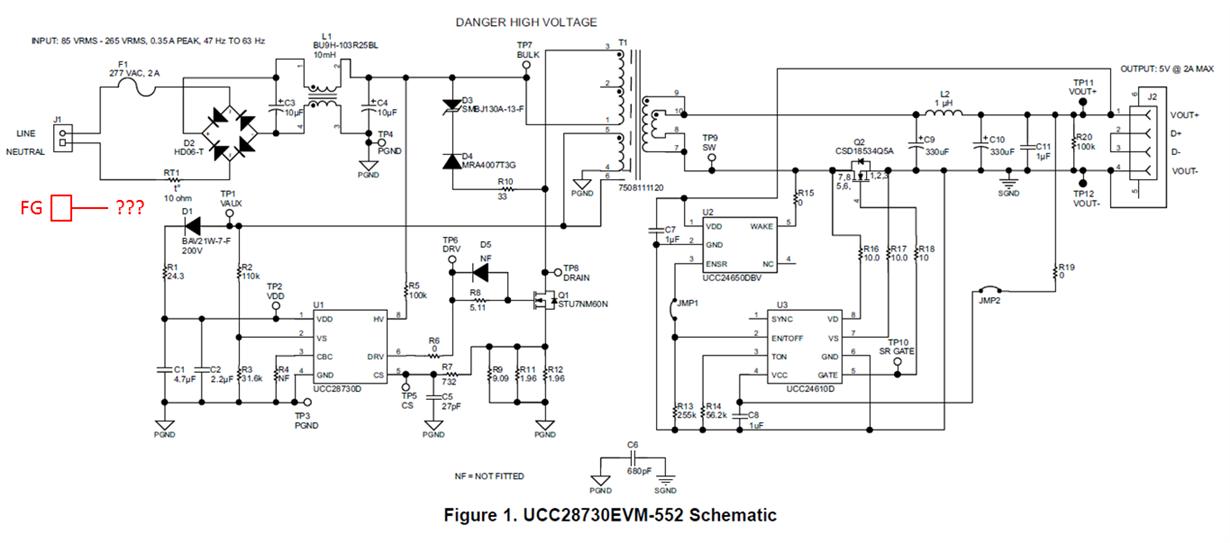 ucc28730evm 552 ac dc evaluation board ac input fg frame. Black Bedroom Furniture Sets. Home Design Ideas
