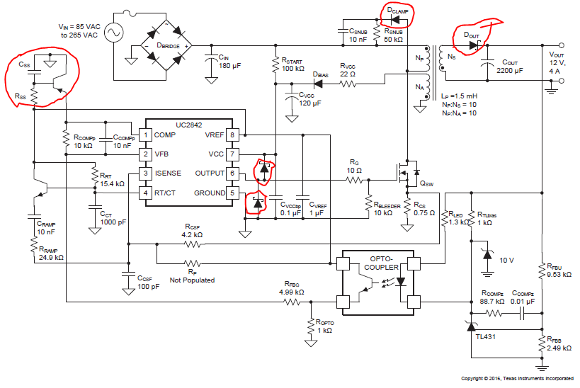 Resolved  Uc3842  Uc3842 - Power Management Forum