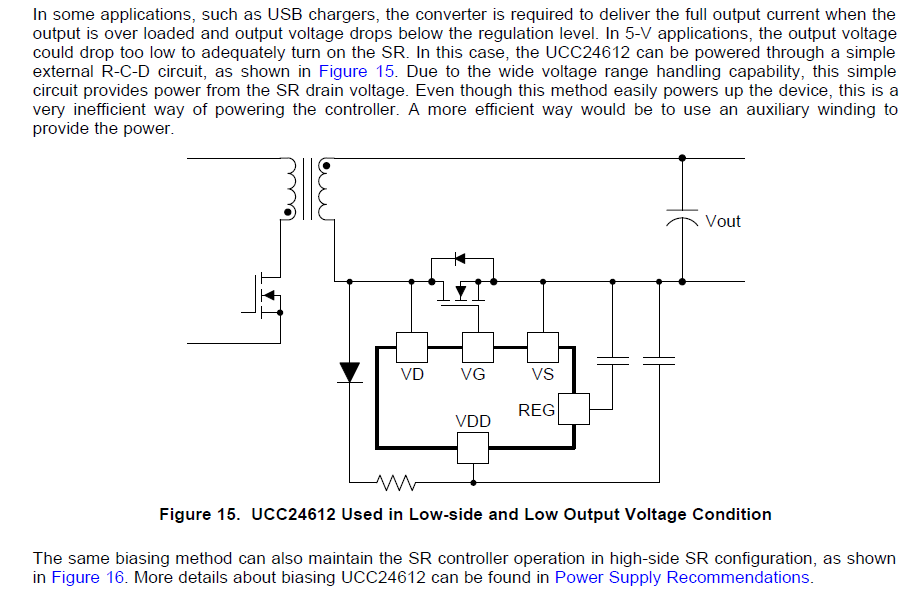 Resolved] UCC24612: VDD circuit design - Power management ... on