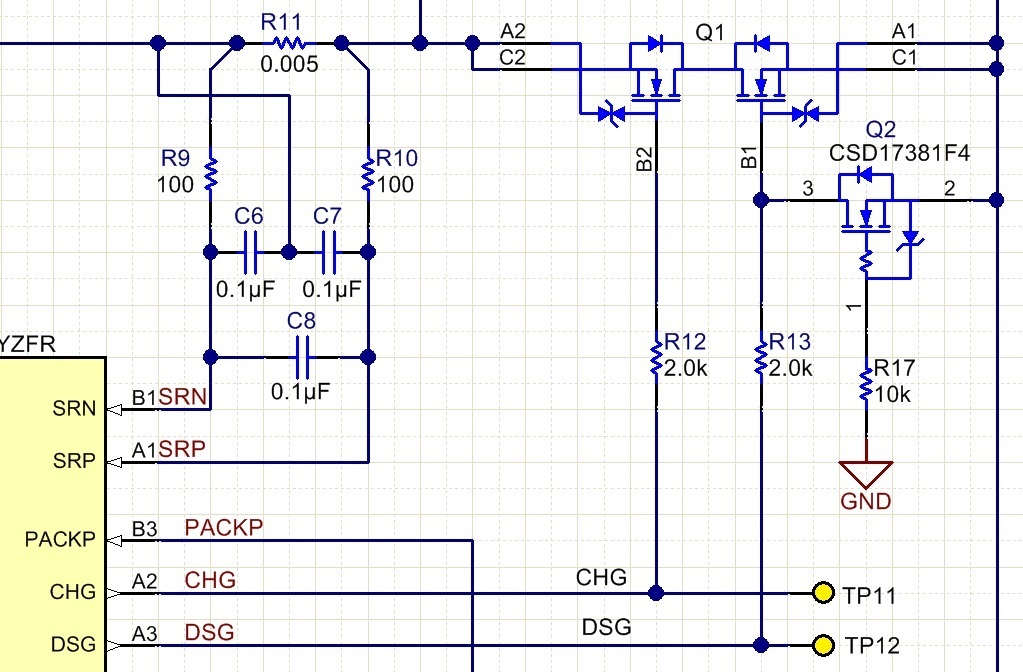 BQ27742-G1: Undervoltage protection not enabling - Power