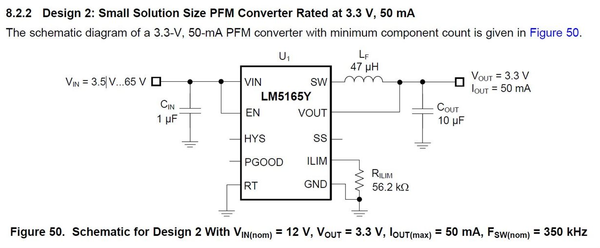 Resolved] LM5165: PFM Inductor Calculation - Power