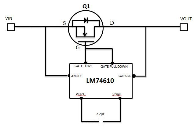 can i use sm74611 smart bypass diode in a low voltage
