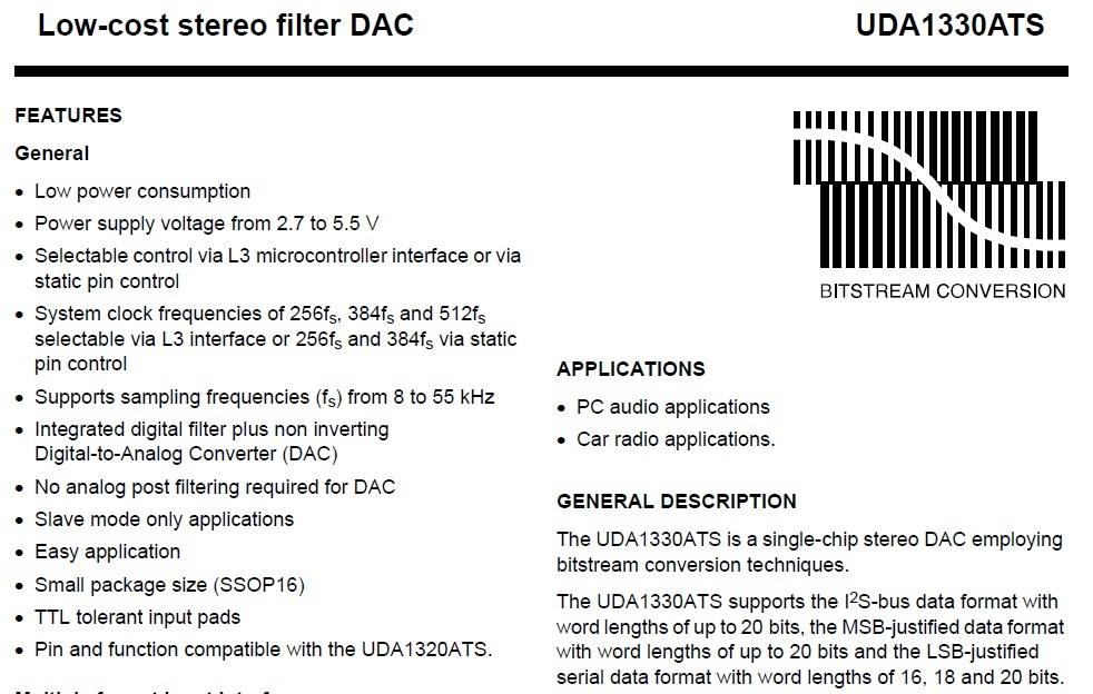 DAC for Car radio applications - Audio forum - Audio - TI E2E Community