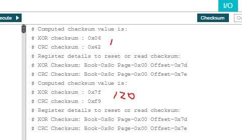 Resolved] TAS5825M: Checksum Problem with TAS5825 PPC3 GUI - Audio