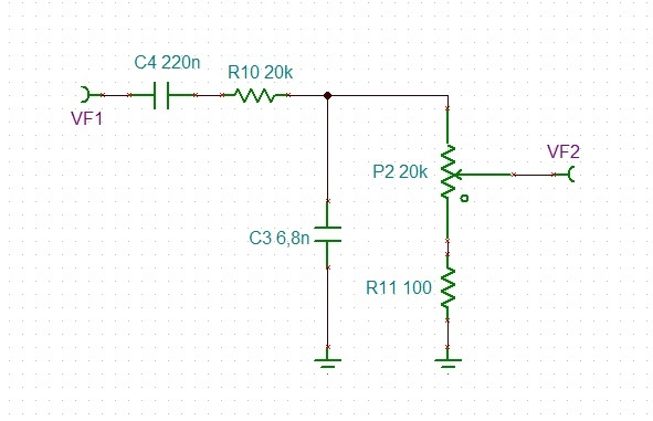 OPA134: Improve circuit for audio tone generator from
