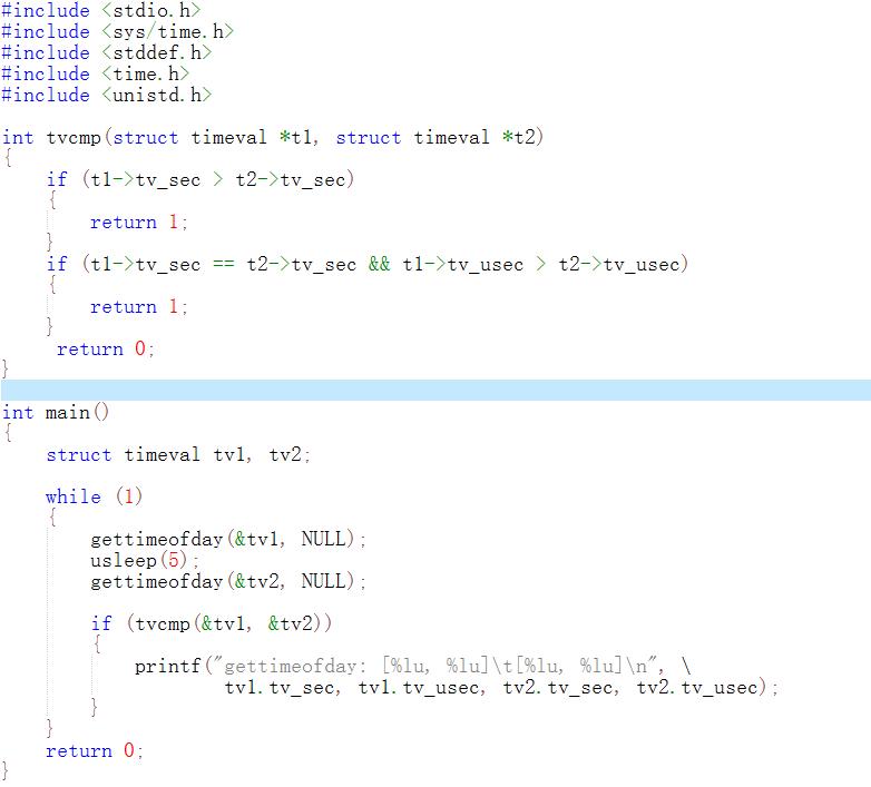 Linux/AM3352: gettimeofday() consecutive call return value