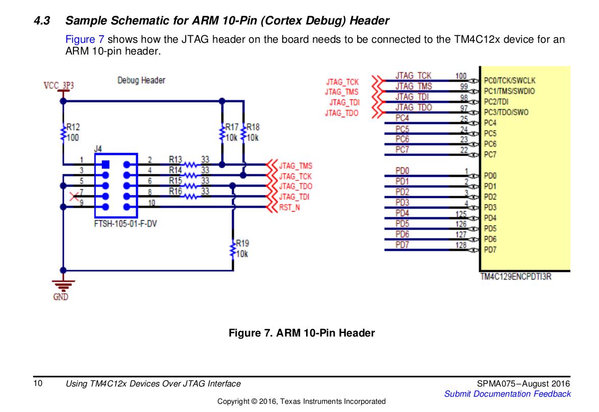 Resolved] TM4C123GH6PM: TM4C123GH6PM and the TC2050-IDC-NL - TM4C ...