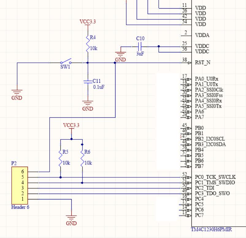 Resolved] Custom board with TM4C not working  Error