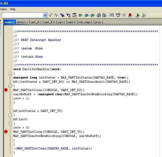 Resolved] CC3200 not generating UART Transmit Interrupt - Wi-Fi