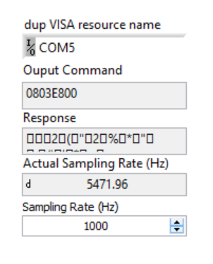Resolved] LDC1000: Trouble adjusting sample rate in LabVIEW