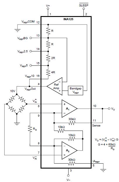 ina125  problem with gain ina125p - precision amplifiers forum - precision amplifiers