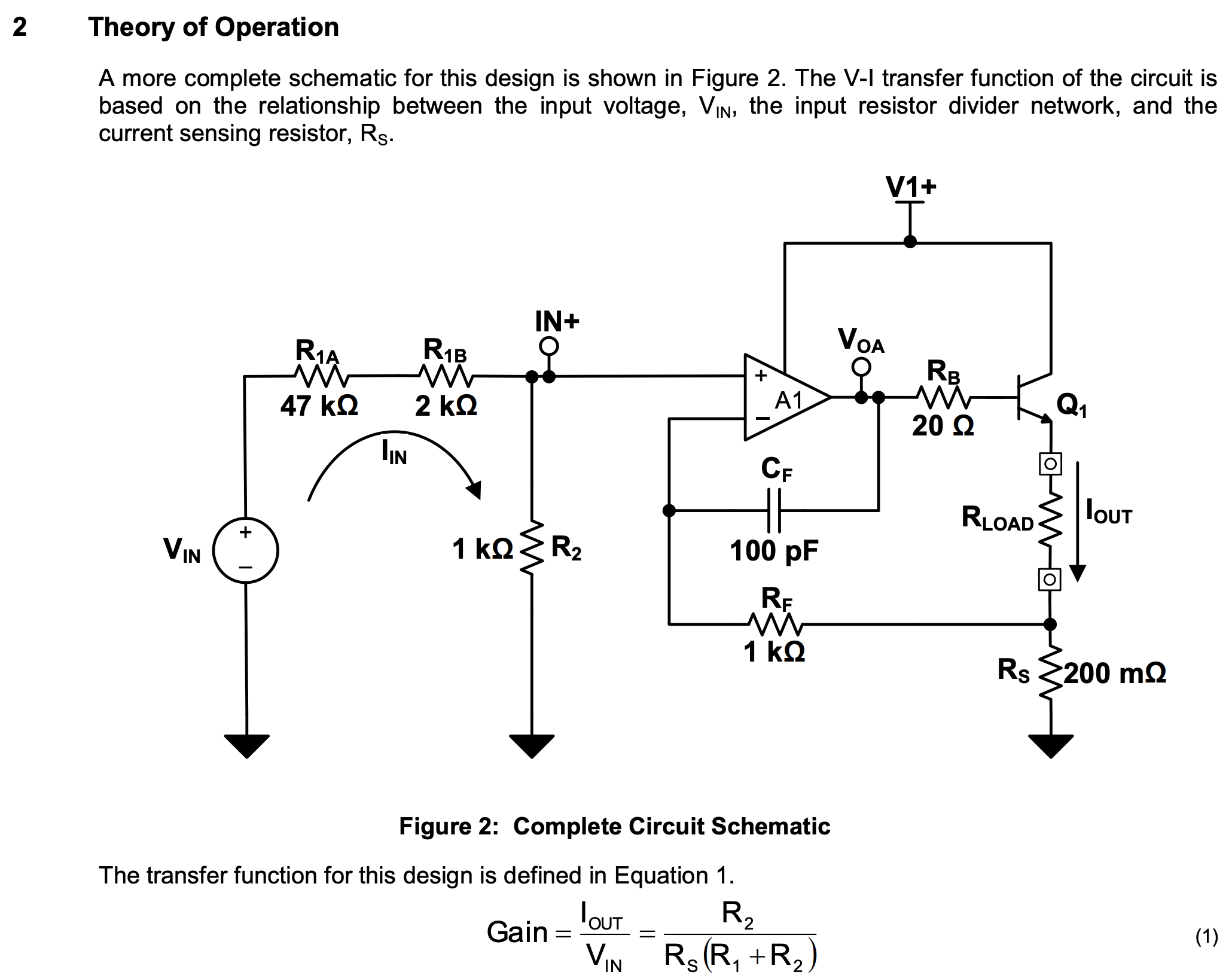 Current Sensing Circuit Using Op As Well Ac Current Sensing Switch On
