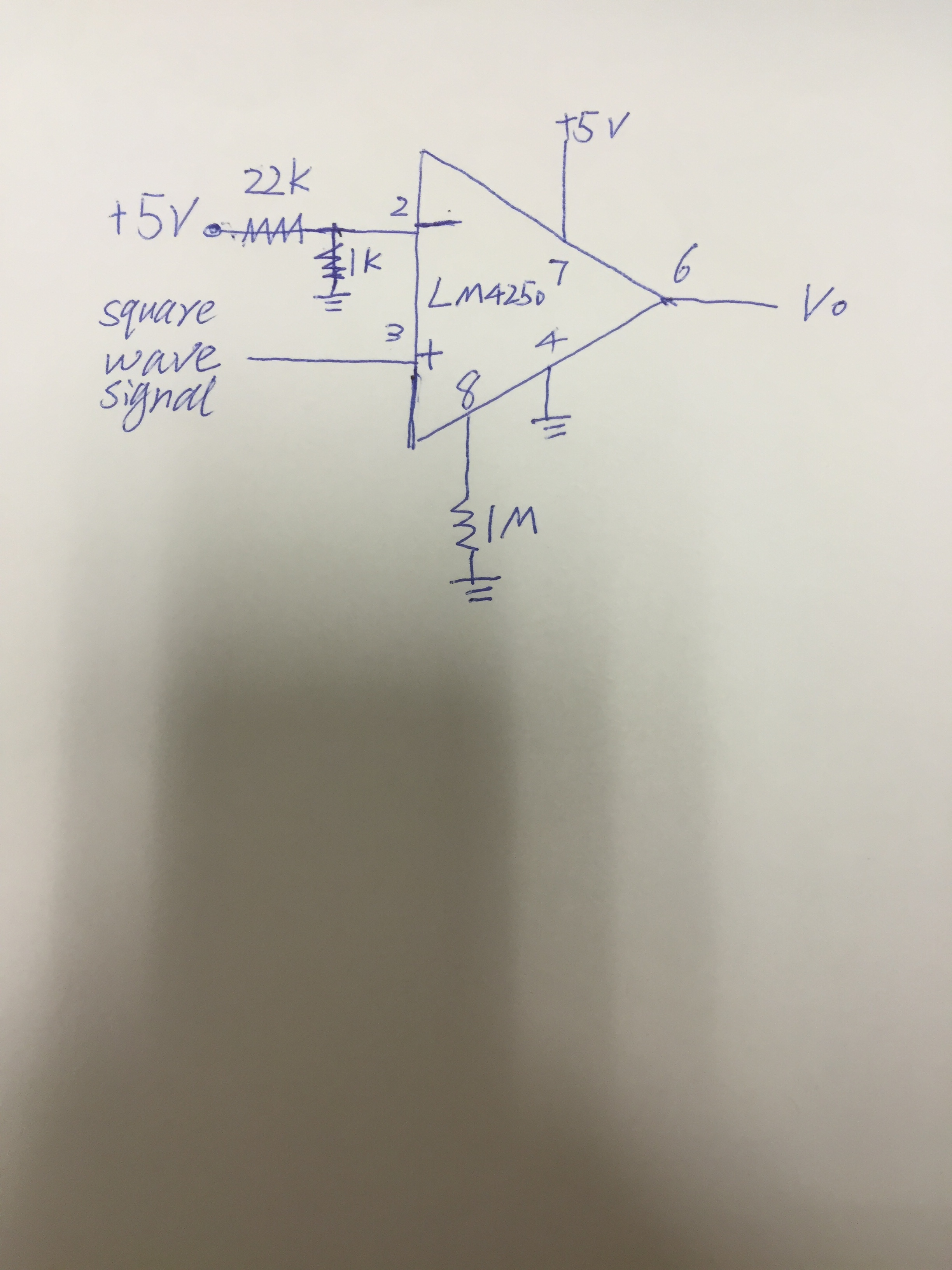 LM4250 Amplify circuit problem. - General Purpose Amplifier & Other ...