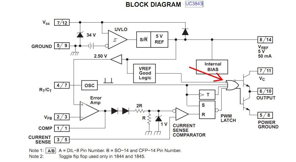 Resolved] UC3843 synchronization - Power management forum - Power