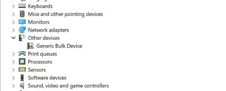 ADS127L01EVM: USB Bulk Driver for ADS127L01EVM on Windows 10