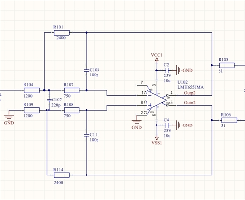 why is this differential mfb lowpass filter oscillating  - amplifiers forum - amplifiers