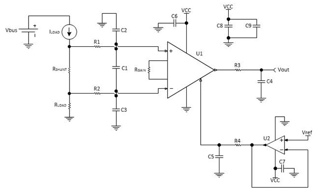 How To Layout A Pcb For An Instrumentation Lifier Precision Hub Rhe2eti: Single Supply Circuit Schematic Diagram At Gmaili.net