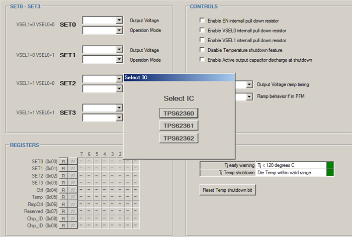 Resolved] About software of TPS62360EVM-655 - Power