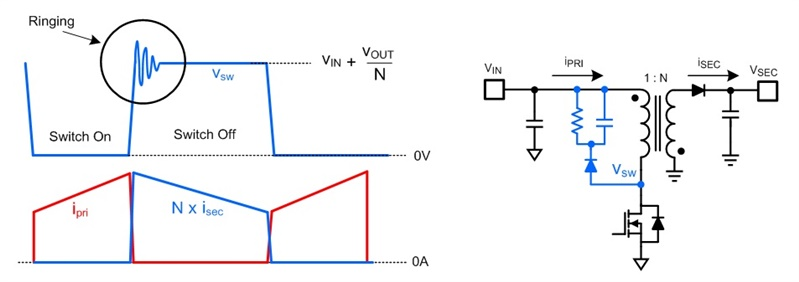 Typical Flyback Circuit