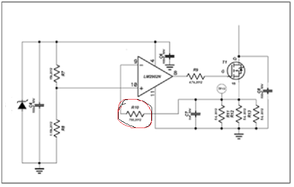 lm2902 input impedance