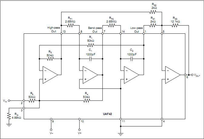 Uaf42 Filter Design Problem Etc Analog Forum Etc