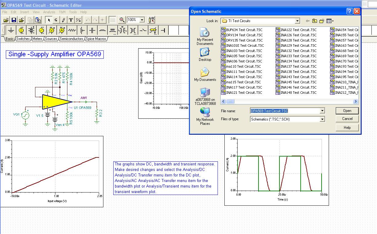 TINA-TI Free Simulator Tool Make Amplifier Sims Easy - Analog Wire ...