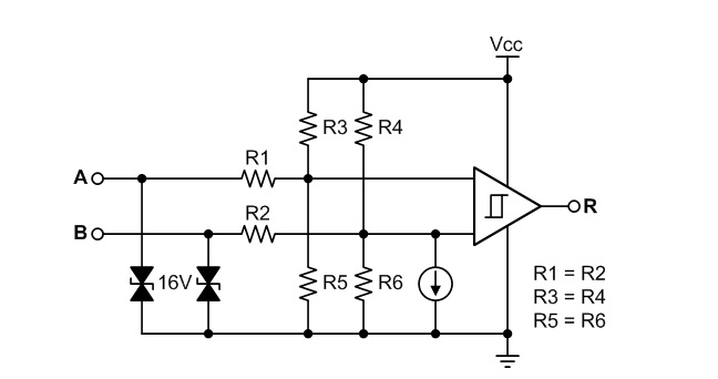rs-485 basics  the rs-485 receiver - analog wire - blogs