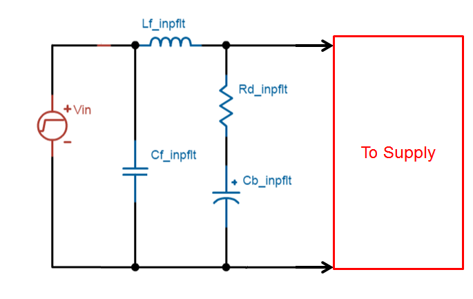 input filter design for switching power