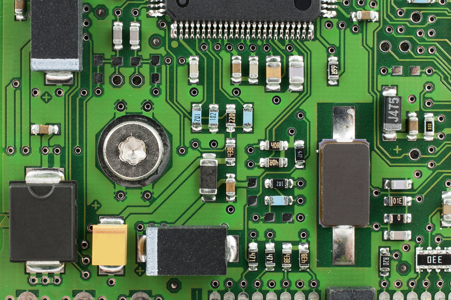 pcb board how to put components