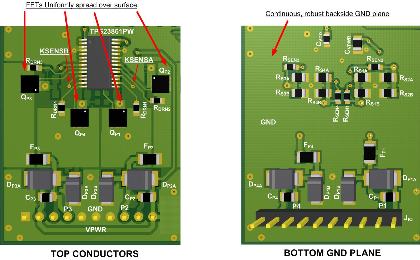 Simplify Your Pcb Layout When 2 Is Better Than 6 Power House Plant Circuit An Example Layer For Tps23861 Shown In Graphic 1