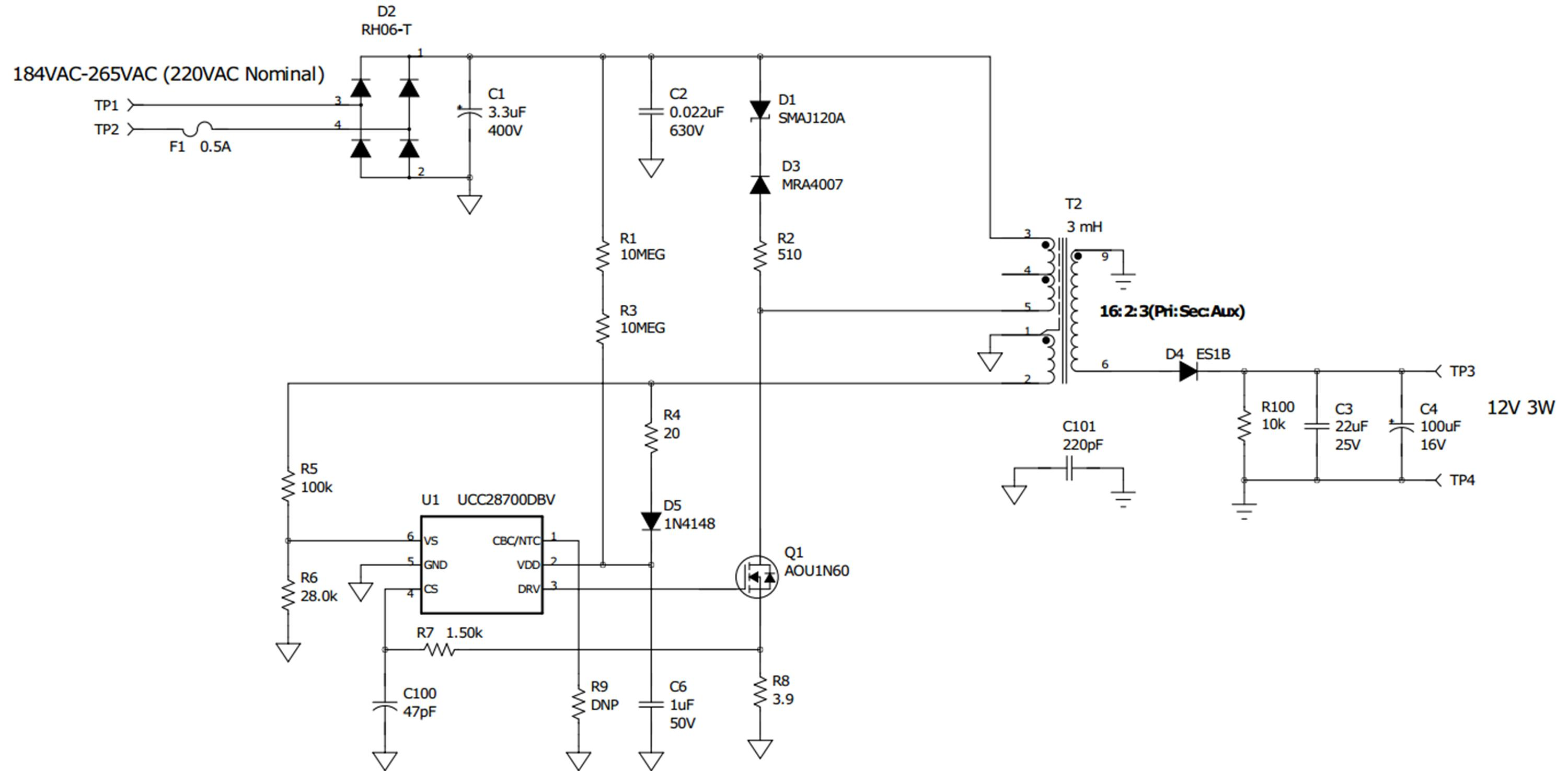 Bjt Bias Circuit Ask Answer Wiring Diagram Voltage Divider Of Power Tips Low Supply Linear Buck Or Flyback House Blogs Ti E2e Emitter