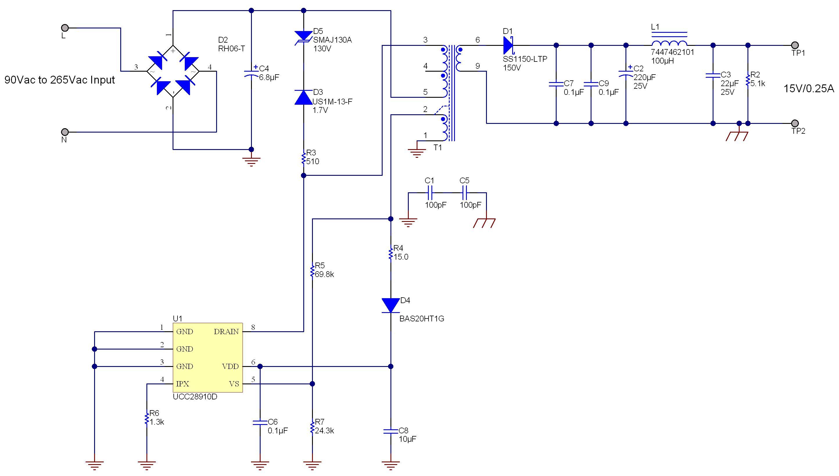 power tips how to simplify an ac dc adaptor design power house rh e2e ti com