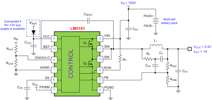 why a wide vin dc  dc converter is a good fit for high cell