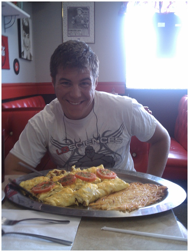 Competitive eater hungry for more challenges as a TI Technical ...