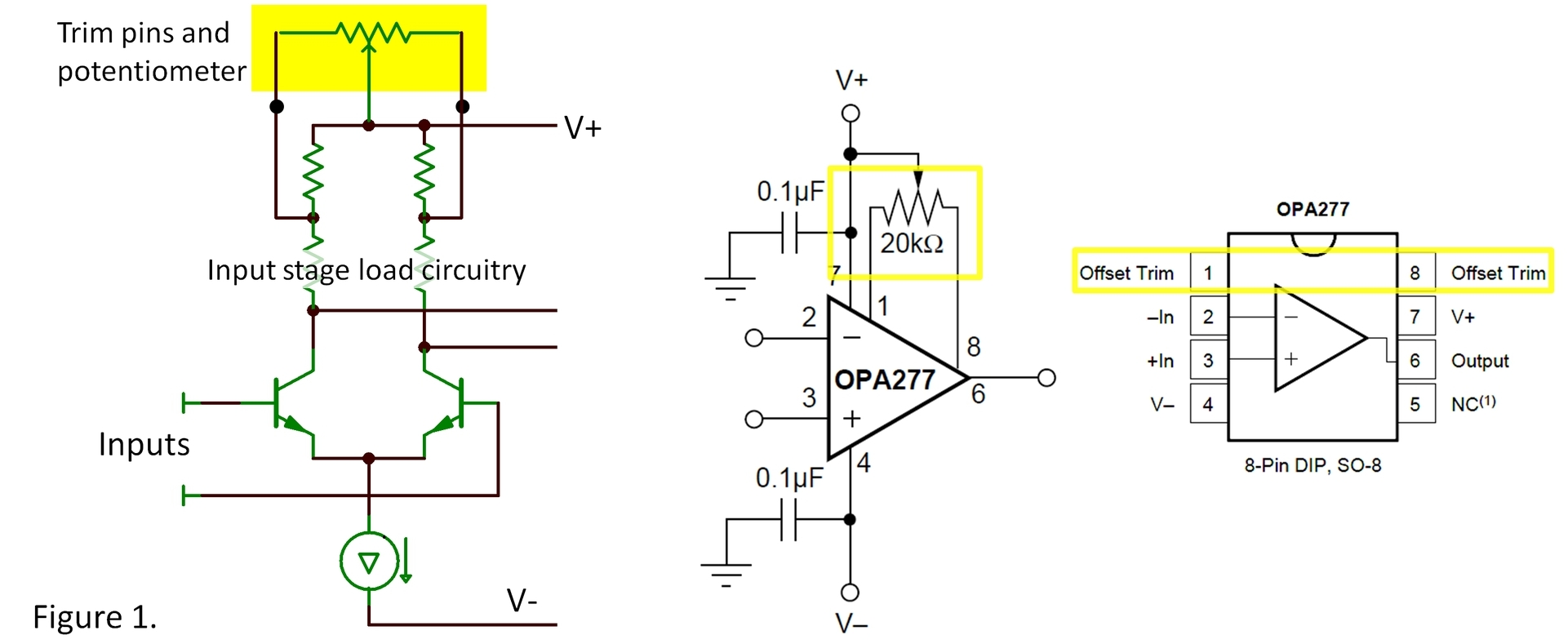 Where Are The Trim Pins Signal Archives Ti E2e Community Circuit Actually Signals That Go To Each Of Other Circuits Figure 1 Shows A Common Type Internal Circuitry Connect Tapped Portion Input Stage Load