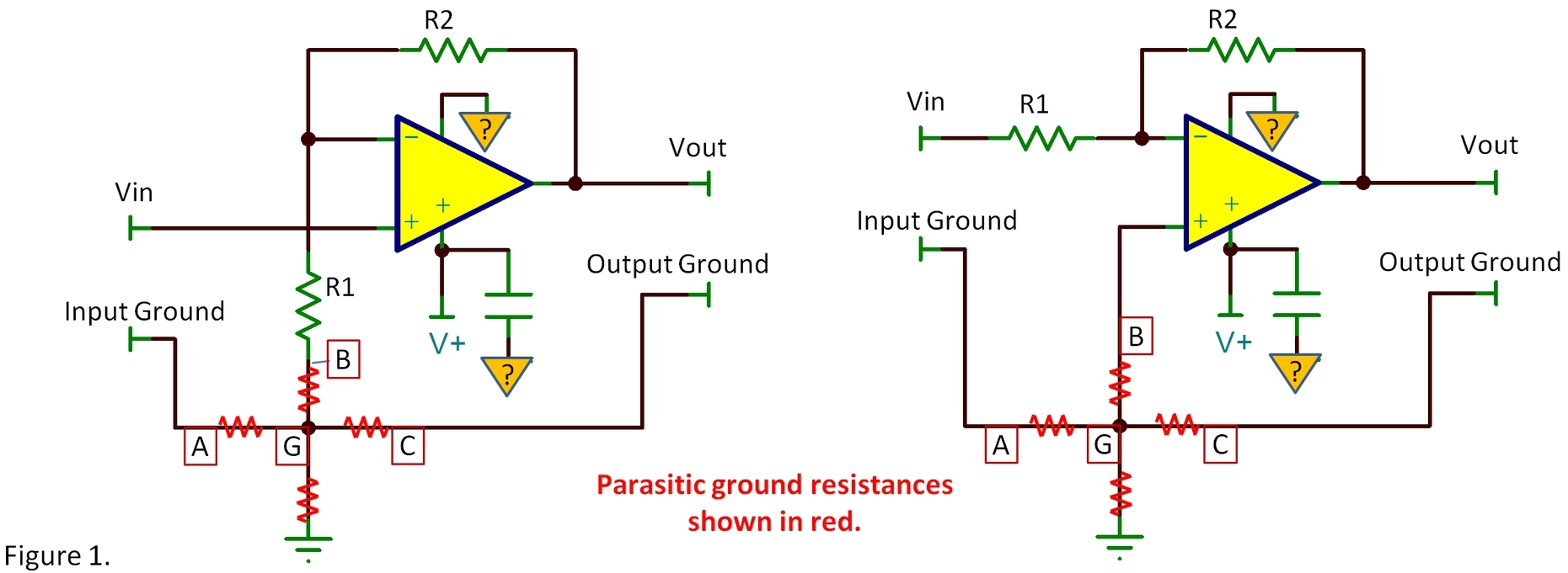 Very Simple Led Flashing With Sound further Problem In Wien Bridge Oscillator further Sound Detector Using Lm324 as well Boss Ds1 Analysis additionally Short Circuit Protection For Almost Any Power Supp. on op amp power supply circuit