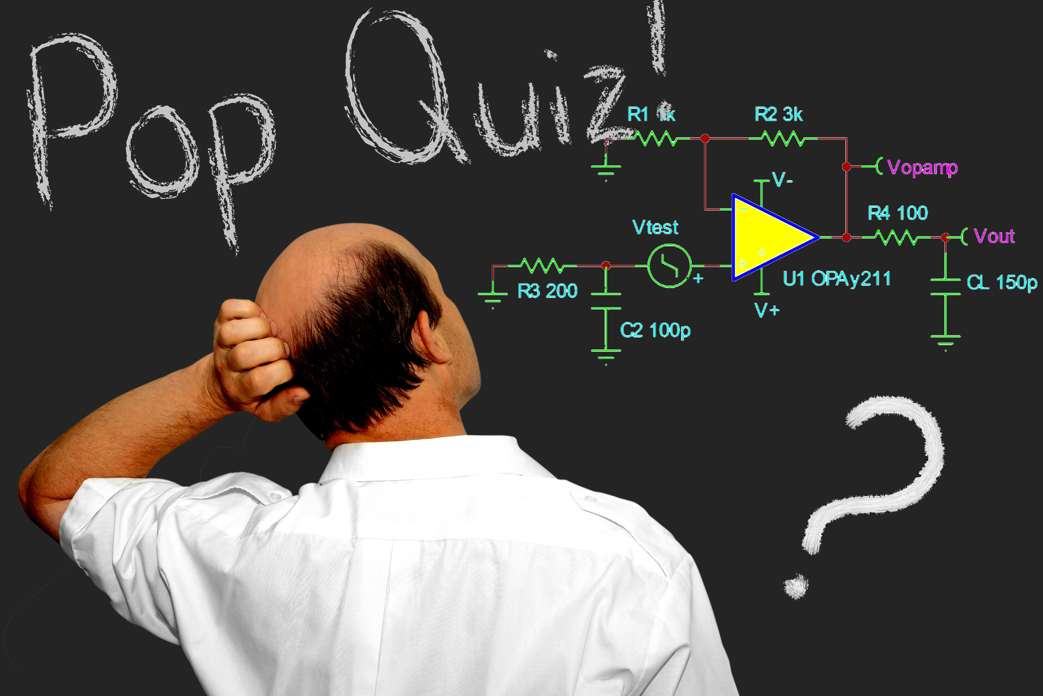 Pop Quiz The Signal Archives Ti E2e Community Specialpurpose Opamp Circuits Electronics Questions And Answers